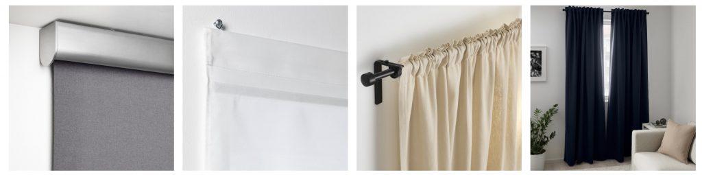 IKEA gordijnen ophangen